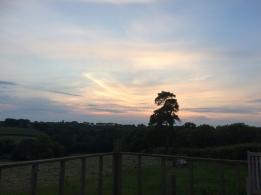 Launceston sunset