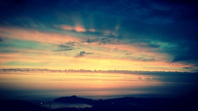 Porth sunset